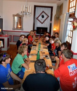 Team USA MX dinner