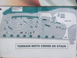 Etain, France track map