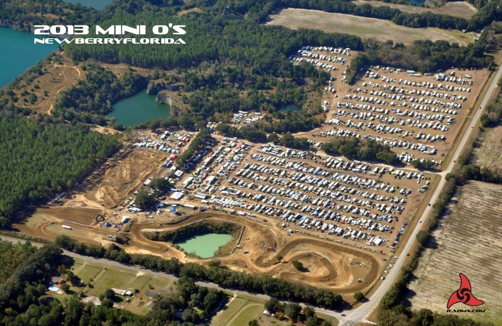 2013 MIni O's Aerial photo