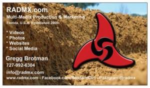 RADMX.com business cards