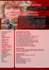 Jesse James radmx resume